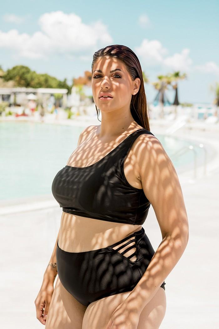 Bikini with one shoulder