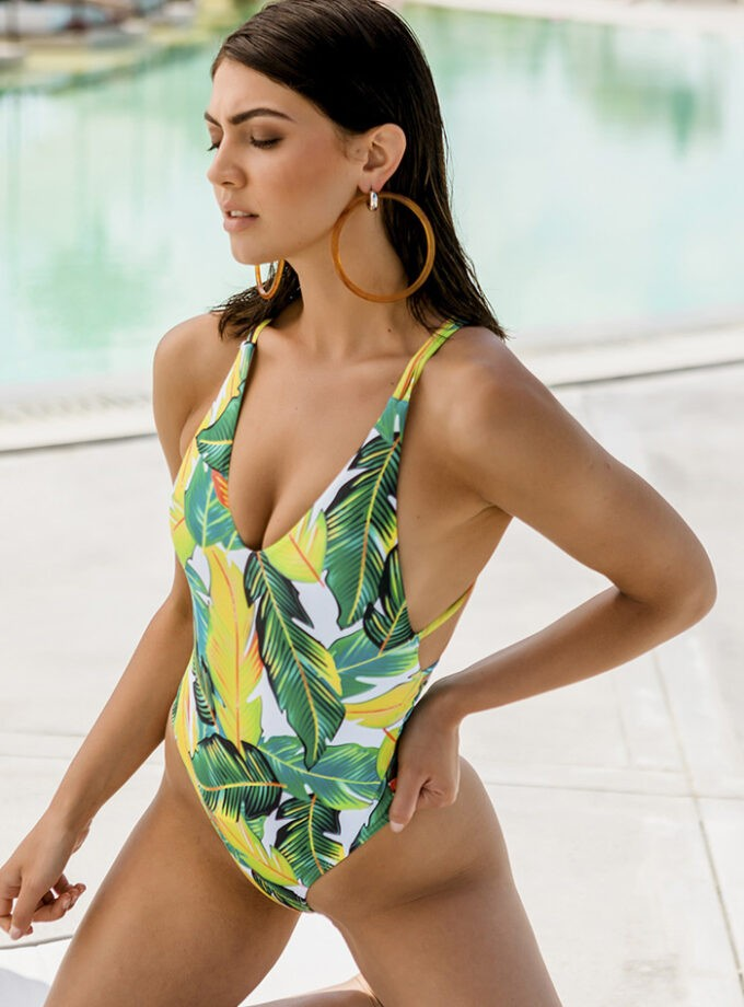 Beautiful one piece with print