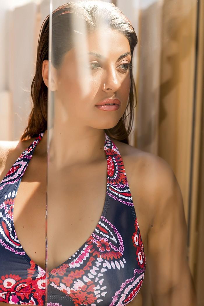 Bikini with paisley print