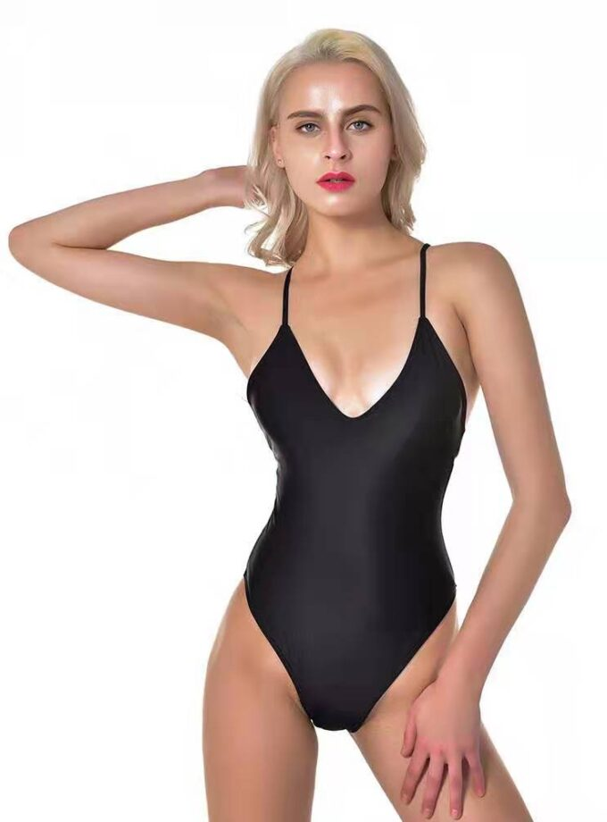 One piece with thin straps