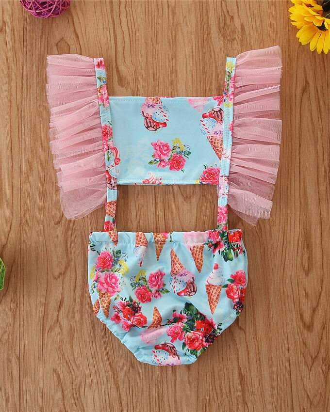 Kids Swimsuit with prints